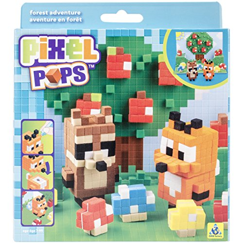 The Orb Factory Pixel Pops Forest Adventure Building Kit - 1