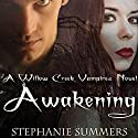Awakening: The Willow Creek Vampires Series, Book 3 Audiobook by Stephanie Summers Narrated by Joel Froomkin