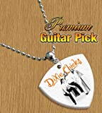 Dixie Chicks Chain / Necklace Bass Guitar Pick Both Sides Printed