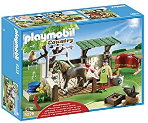 Playmobil 5225 Country Poany Farm Horse and Pony Care Station