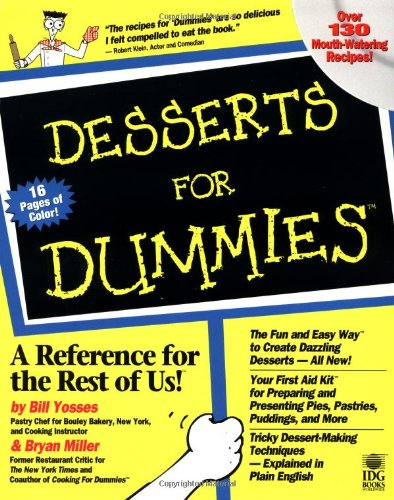 Desserts For Dummies front-1068292