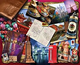 World Traveler 500 Piece Jigsaw Puzzle