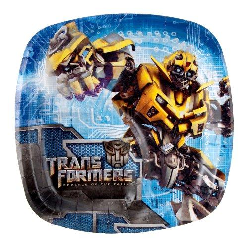 Imagen de Transformers La Venganza de los Caídos platos de postre Pocket