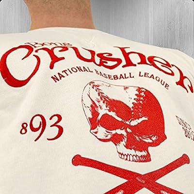Yakuza Premium Herren Sweatshirt Bone Crusher 1732 weiss - fällt normal aus, locker geschnitten