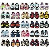 Petit Marin - Chaussures Bébé - Chaussons Bébé - Chaussons Cuir Souple - Chaussures Cuir Souple - Chaussures Premiers Pas - Chaussures Bébé Fille Chaussures Bébé Garçon - 0-6 Mois 6-12 Mois 12-18 Mois 18-24 Mois