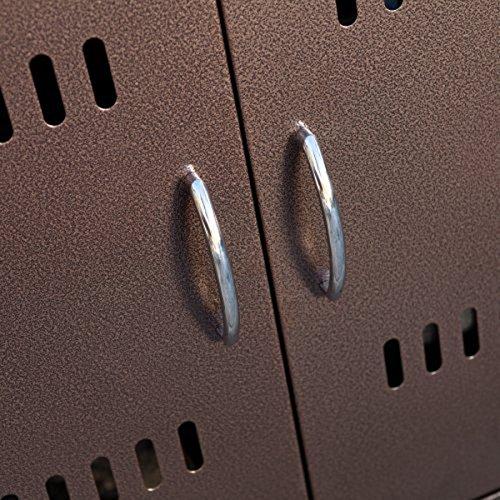 AZ-Patio-Heaters-HIL-FP-1108-Square-Slatted-Aluminum-Fire-Pit