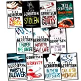 Tess Gerritsen Tess Gerritsen Collection 11 Books Set Pack (The Mephisto Club, bloodstream, Call After Midnight, In Their Footsteps, Gravity, Whistleblower, Under The Knife, Stolen, Never say Die, Keeper of the Bride, Presume guilty)