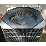 Delonghi Air Conditioner Central Air Conditioner Cover All Season Exterior Tan Top Only