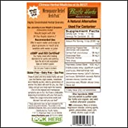 Pacific Herbs Menopause Relief Herb Pack, Natural Solution for HOT Flashes, Night Sweats & All PERI-menopause and Menopause symptoms - 30-60 Day supply, usage instruction inside