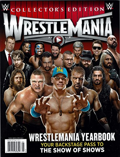 WWE 2015 Yearbook Collectors Edition Magazine 98 Full Color Pages