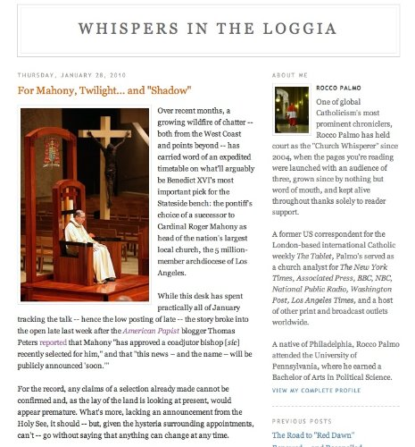 Whispers in the Loggia