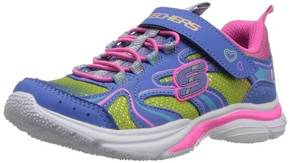 Skechers-Kids-80428L-Lite-Kicks-Rainbow-Sprite-Athletic-Sneaker-Little-Kid-