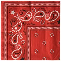 Cowboy Bandana Beverage Napkins : package of 16