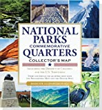 National Parks Commemorative Quarters Collector's Map 2010-2021 (includes both mints!)