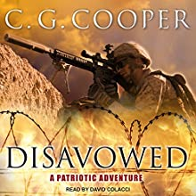 Disavowed: Corps Justice Series, Book 8 Audiobook by C. G. Cooper Narrated by David Colacci