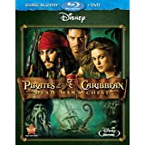 Pirates Of The Caribbean: Dead Man's Chest (Three-Disc Blu-ray/DVD Combo) ~ Johnny Depp