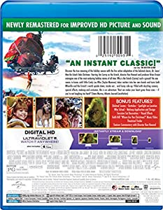 Dr. Seuss' How The Grinch Stole Christmas - Grinchmas Edition (Blu-ray + DIGITAL HD) from Universal Studios