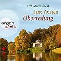 Überredung Hörbuch von Jane Austen Gesprochen von: Eva Mattes