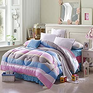 rainbow candy multicolor comforter down alternative comforter cheap comforter teen comforter. Black Bedroom Furniture Sets. Home Design Ideas