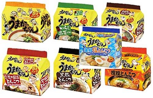 ハウス食品 九州の味 うまかっちゃん 7種類 5食入り×7袋(種類) -