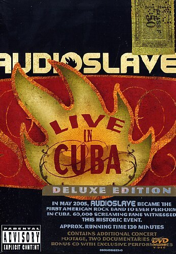 Audioslave - Live in Cuba(DVD + CD)