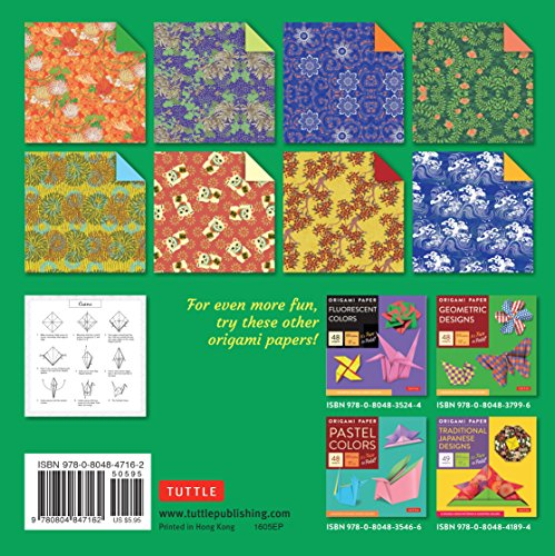 origami paper chiyogami prints 6 34quot 48 sheets