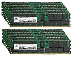 Adamanta 512GB (16x32GB) Memory Upgrade for HP Proliant DL380 Gen 9 DDR4 2400MHZ PC4-19200 ECC Registered Chip 2Rx4 CL17 1.2V