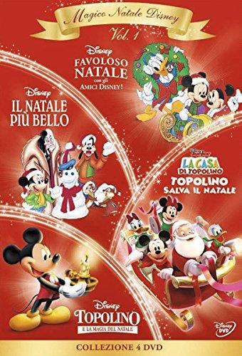 Cofanetto Magico Natale Disney - Volume 1 (4 DVD)