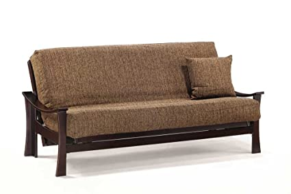 J&M Furniture 17637-T-JV Deco Futon Frame