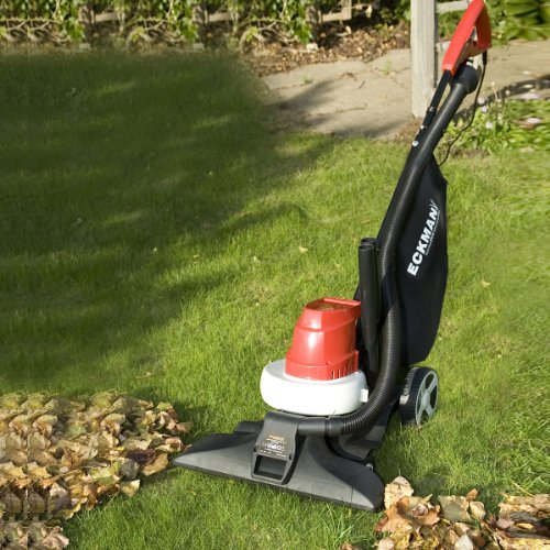 Best Electric Leaf Blower Brands : Brand new wheeled garden leaf vacuum blower shredder