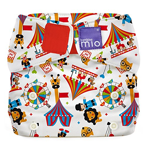 Bambino Mio All-in-One Cloth Diaper, Circus Time