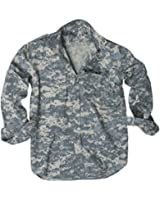 100% Cotton Ripstop Field Shirt in Black, Olive Green, Navy Blue, Woodland Camo or ACU Digital Camo
