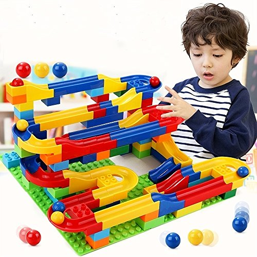 Hoyo-Marble-Run-Coaster-with-Building-Blocks-and-Race-Marbles-Set-Marble-Game-Race-Railway-Track-Construction-Learning-Educational-Toys-Endless-Fun-Kit-47pcs