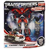 Transformers Dark Of The Moon Mechtech Voyager Class Cannon Force Ironhide Figure