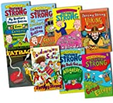 Jeremy Strong Jeremy Strong 8 Books Collection Pack Set RRP: £41.92 (Fatbag: The Demon Vacuum Cleaner, Viking at School, Pandemonium at School, My Mum''s Going to Explode!, My Dad''s Got an Alligator!, My Brother''s Famous Bottom Goes Camping, My Granny