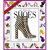 365 Days of SHOES Wall Calendar 2016