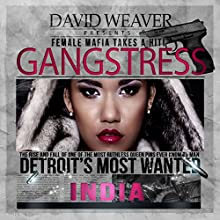 Gangstress Audiobook by  India Narrated by Nicole Small