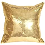gold sparkle pillow