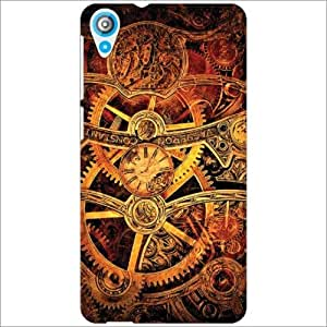 Design Worlds - HTC Desire 820Q Designer Back Cover Case - Multicolor Phone...