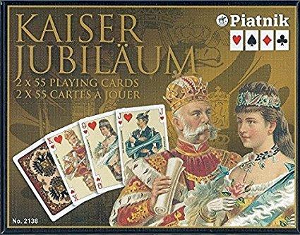 piatnik-213847-carte-da-gioco-kaiser-imperial-bridge-wk-importato-dalla-germania