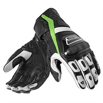 FGS082 - 1850-M - Rev It Stellar Motorcycle Gloves M Black/Green