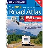 USA, Road Atlas, Midsize Easy To Read, Spiral Bound 2013 (Rand Mcnally Road Atlas Deluxe Midsize)