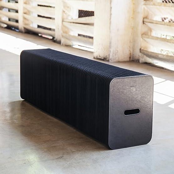 Sgabello da tavolo sgabelli multifunzionali neri sgabello casual sgabello sgabello da lavoro (stuoia regalo casuale)