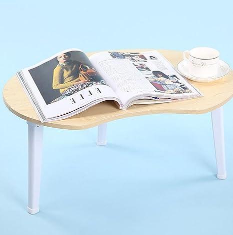 uzi-lazy persone benessere Elegante, minimalista, letto pieghevole scrivania per PC portatile, impermeabile la Lazy Man a Maple color
