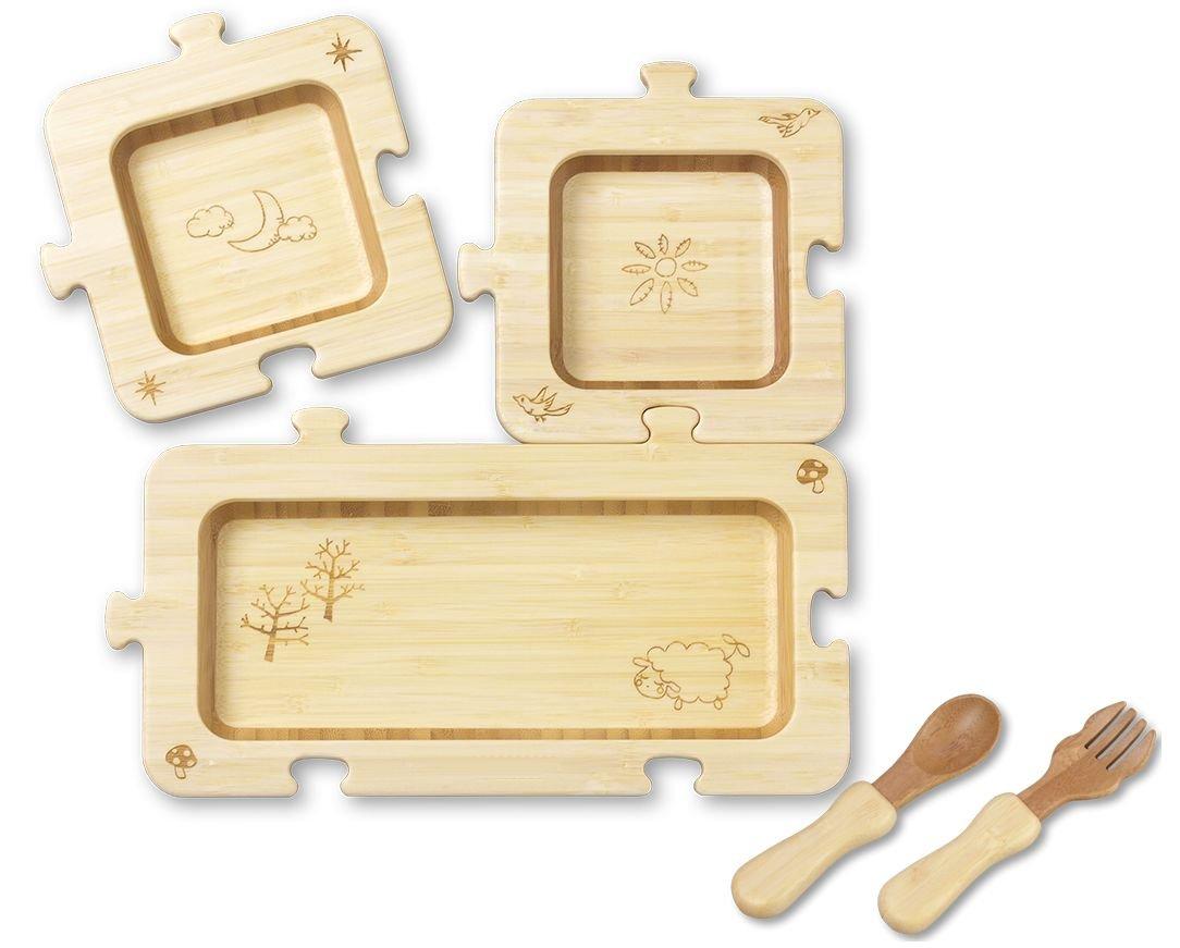 天然素材のオススメ子供食器6選。ぬくもりのある食器から楽しい食育を