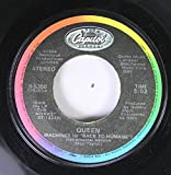 Queen 45 RPM Machines for Back to Humans / I Want to Break Free