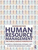 img - for Human Resource Management: The Public Service Perspective book / textbook / text book