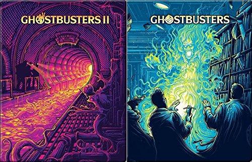 Ghostbusters Steelbook Blu Ray Set Ghostbusters 1 & 2 PopArt Metal Pack 80's special pack set