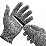 WISLIFE(ウィスライフ) 防刃手袋 作業用手袋 料理用切れない手袋 女性と子供の安全のため 1双 Lサイズ