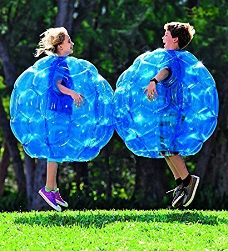 (2-Pack) Wearable Inflatable Bumper Balls 36 - Bubble Soccer Suits- Set of Two (2) Balls - For Kids or Small Adults - Blow Up Toy in 5 Min. Boy Girl Outdoor Game by Play Now Inflatables thumbnail